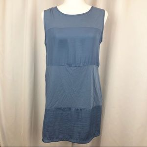 Vince Camuto multi fabrics sleeveless tunic top